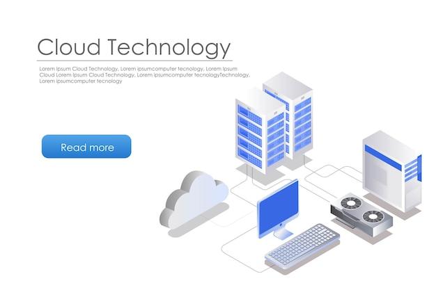 Velocità del laptop del server cloud