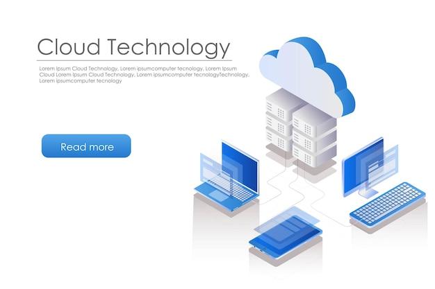 Computer portatile con server cloud