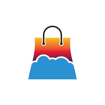 Logo del negozio cloud