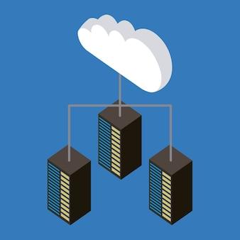 Caricamento dei dati di connessione al cloud storage