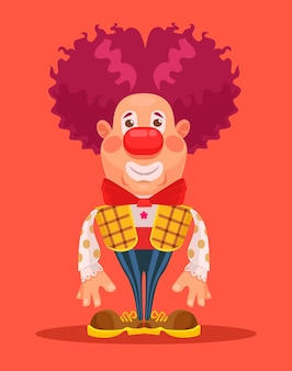 Personaggio clown.