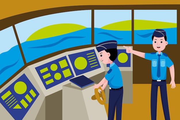 Professione di guardia costiera
