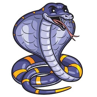 Cobra cute cartoon