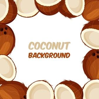 Cornice di cocco