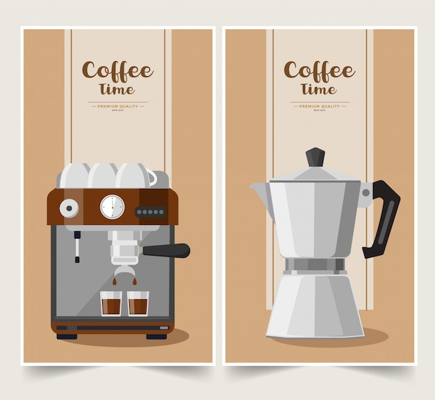 Banner di caffè