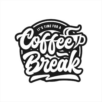 Logo della pausa caffè