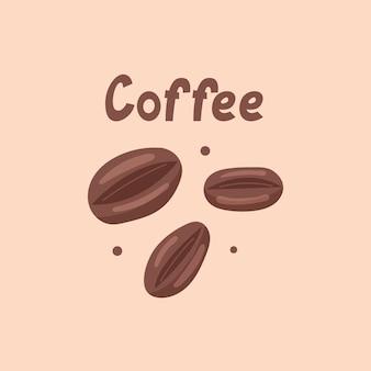 I biscotti al caffè sembrano chicchi