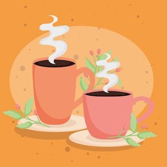 Tazza e tazza da caffè