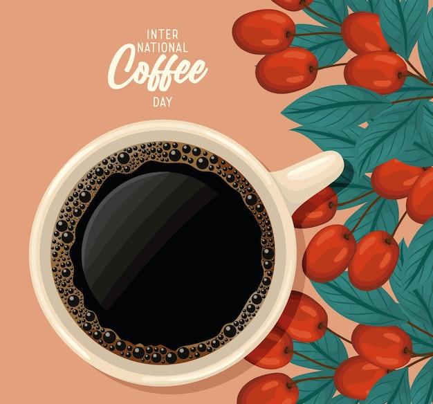 Carta del giorno del caffè