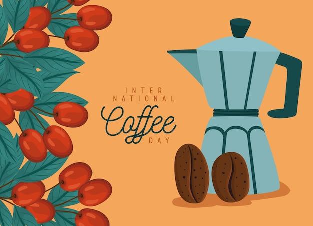Design del giorno del caffè