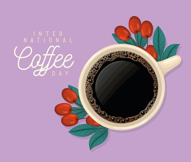 Poster della giornata del caffè