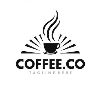 Caffè logo design ispirazione
