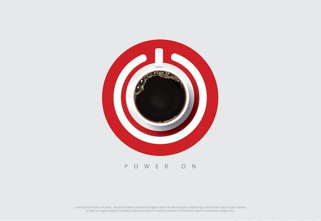 Flayers della pubblicità del manifesto del caffè