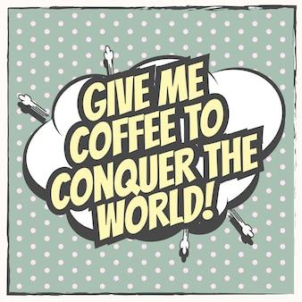 Citazioni di caffè