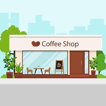 Caffetteria in città