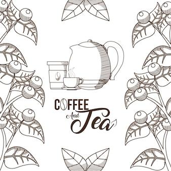 Tempo di caffè e tè