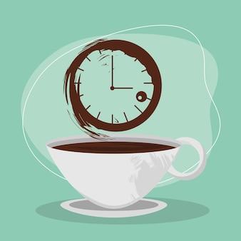 Banner dell'ora del caffè