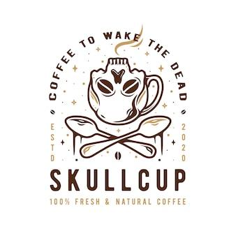 Caffè per svegliare i morti illustrazione
