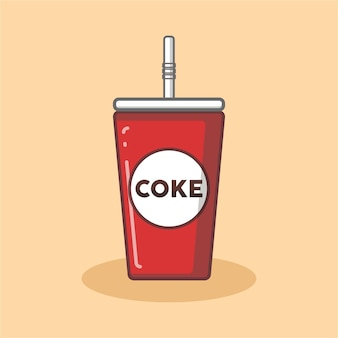 Logo di coke cup