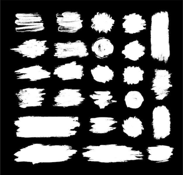 Raccolta di macchie grunge texture e macchie