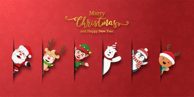 Collezione di icone a tema natalizio