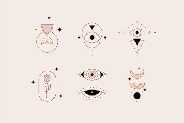 Raccolta di elementi esoterici