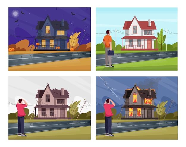 Raccolta di proprietà immobiliari