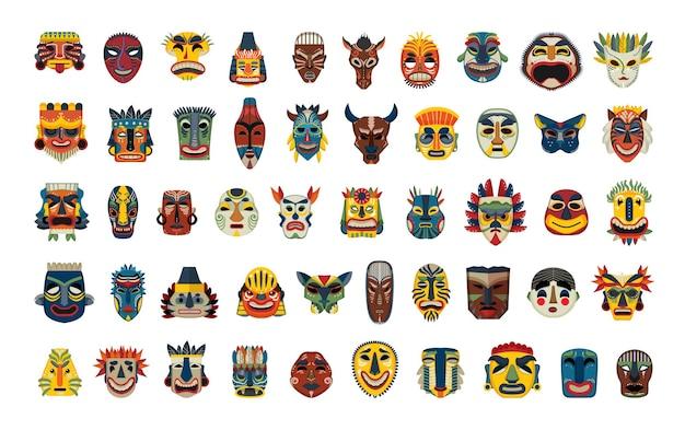 Collezione di maschere