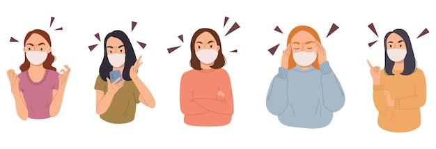 Raccolta di ritratti di donne arrabbiate