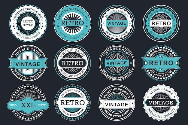 Etichette di vendita di raccolta.