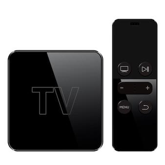 Raccolta di smart tv con telecomando