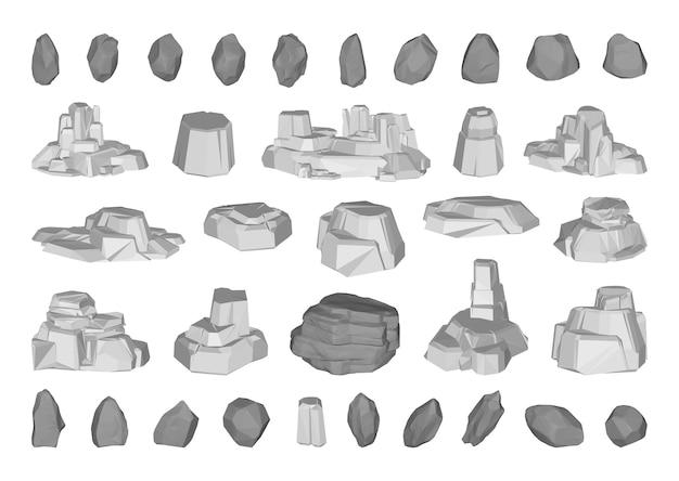Collezione di pietre