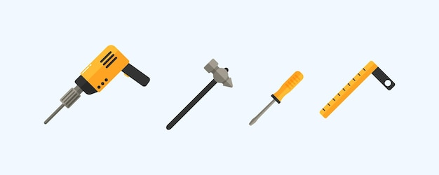 Raccolta di strumenti di lavoro