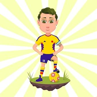 Calciatore della nazionale colombiana