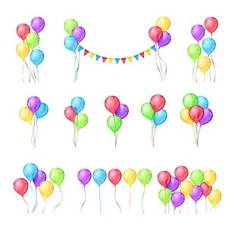 Set di palloncini di colore