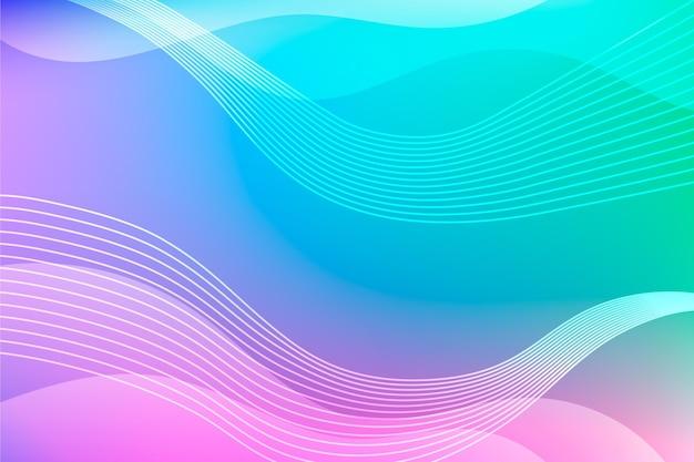 Disegno di sfondo sfumato astratto colorato