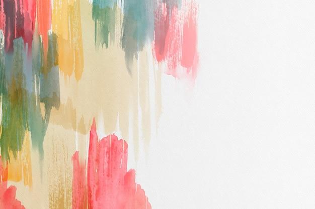 Sfondo colorato acquerello astratto