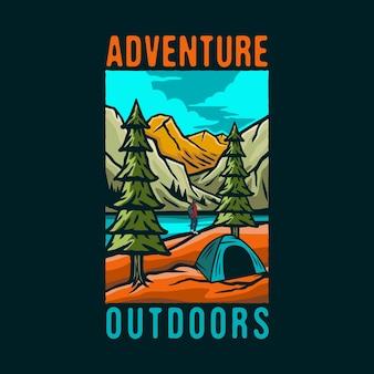 Logo colorato dell'avventura