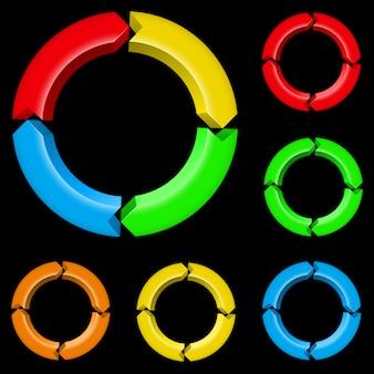 Frecce colorate