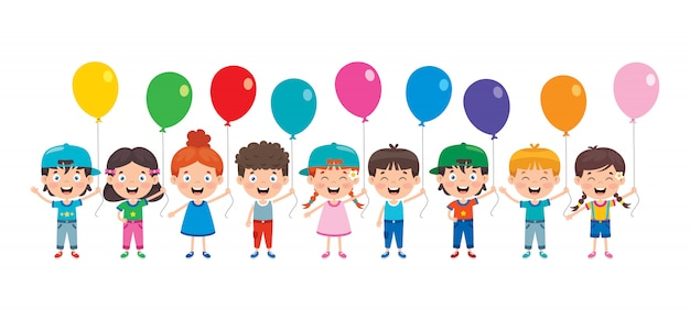 Palloncini colorati per la decorazione del partito