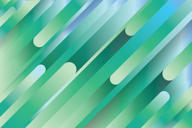 Sfondo colorato linee geometriche blu e verde