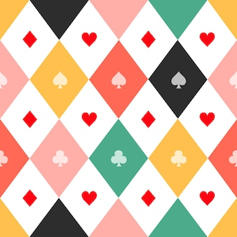 La carta variopinta è adatta allo sfondo del diamante della scacchiera