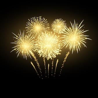 Fondo variopinto di festa dei fuochi d'artificio di carnevale