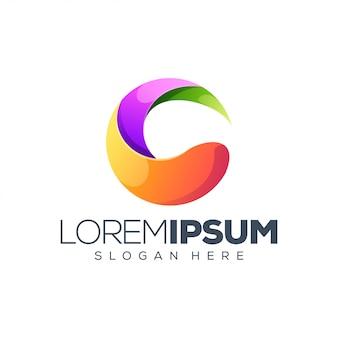 Design del logo cerchio colorato