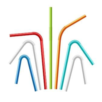 Set di cannucce colorate