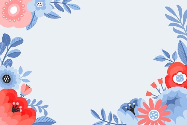 Illustrazioni floreali colorate