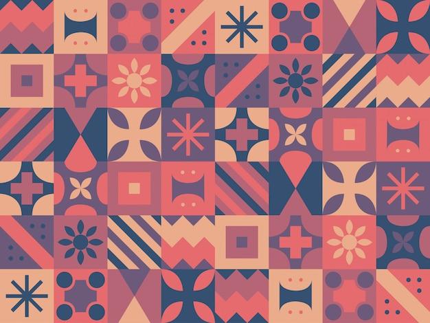 Sfondo colorato forme geometriche