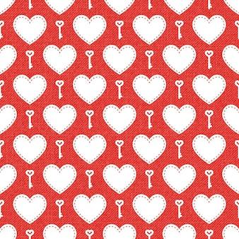 Modello di cuori colorati. sfondo di san valentino per modello di vacanza. illustrazione di stile creativo e di lusso