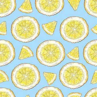 Gelato al limone e frutta fresca al limone