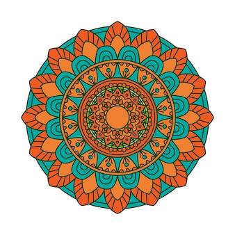 Sfondo colorato mandala